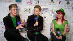 """Happy St. Jedward's Day! Yes, the """"double divas of Dublin"""" are back, and they're here at Yahoo this St. Paddy's Day to discuss their upcoming music, their favorite Irish celebration traditions, and their upcoming roles in 'Sharknado 3.'"""