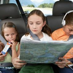 6 Clever Car Games For Kids Being trapped in a car with children on a long drive can sometimes seem like a form of torture. One great way to prevent bad moods and complaining