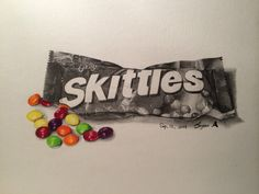 Skittles Pencil+Color pencil I use Prismacolor pencils.