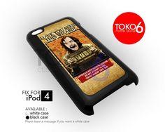 AJ 4125 Sirius Black Prisoners Wizard - iPod 4 Case   toko6 - Accessories on ArtFire