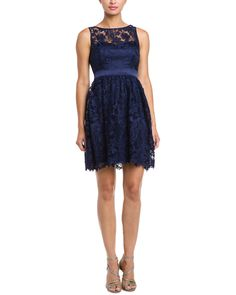 Adrianna Papell Midnight Lace Dress is on Rue. Shop it now.