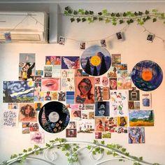 Cute Room Ideas, Cute Room Decor, Indie Room Decor, Retro Room, Vintage Room, Bedroom Vintage, Vintage Pink, Vintage Art, Room Ideas Bedroom