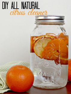 Looking for DIY Cleaner recipes? Cleaning with Vinegar: DIY All Natural Citrus Cleaner #MyMixx