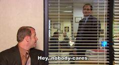 Nobody cares, Toby.