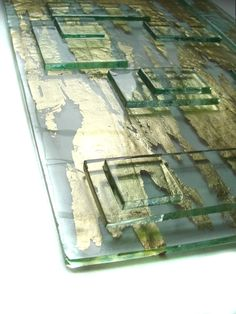 kiln carved fused glass - Google Search