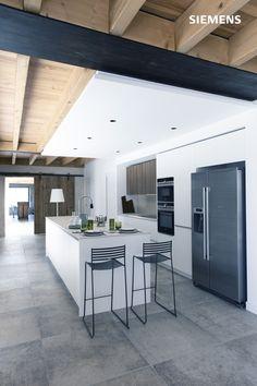 French Kitchen Decor, Interior Design Kitchen, Diy Bedroom Decor, Diy Home Decor, Cocinas Kitchen, Bright Kitchens, Beautiful Bedrooms, Cabana, Kitchen Remodel