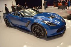 new Corvette Z06 Convertible at the NY Auto Show.