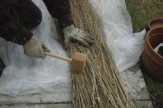 Making linen from scratch