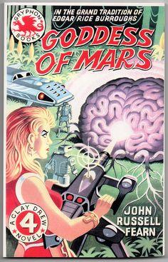Goddess of Mars pulp sci-fi Pulp Fiction Comics, Science Fiction Books, Diesel Punk, Classic Sci Fi Books, Horror, Sci Fi Novels, Retro Robot, Retro Images, Journey