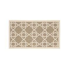 Safavieh Courtyard Trellis Indoor Outdoor Rug, Brown Oth