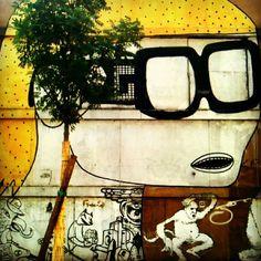 Blu Street Art in Bologna - Instagram by @nomadbiba