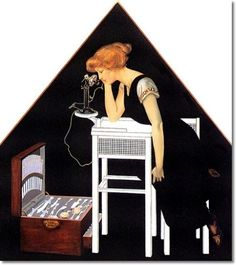 Coles Philips - Coles Phillips - Untitled06 Painting