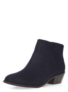 70c2fcb1dec8b Dorothy Perkins - Navy  Belle  Prairie Boots £25 Boots For Sale