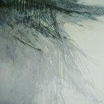 dunas II - acuarela sobre papel arches adherido a tabla - 40X40 cm