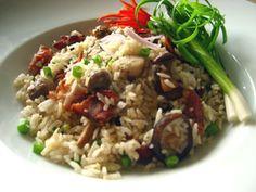 bacon-mushroom-fried-rice