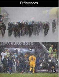 Big difference Euro 2012, Biking, Baseball Cards, Bicycling, Motorcycles, Cycling