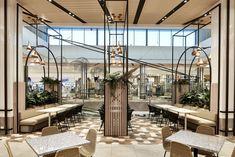 Hospitality design by Code Design for AMP Design Café, Salon Design, Cafe Design, Store Design, Greens Restaurant, Cafe Restaurant, Cafe Bar, Coffee Shop, Food Court Design
