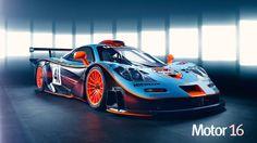 McLaren F1 GTR Longtail. Imágenes