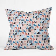 Zoe Wodarz Weekend Angle Throw Pillow | DENY Designs Home Accessories