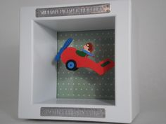A great and popular 'ditty' option - the Plane is a real favorite for boys. www.giftedwithwords.com