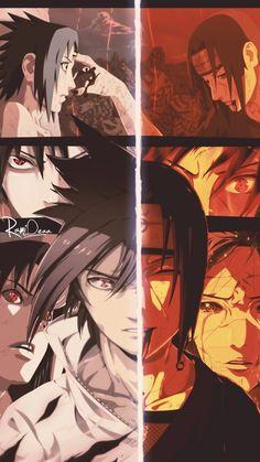 Uchiha Sasuke e Uchiha Itachi Naruto Vs Sasuke, Itachi Uchiha, Anime Naruto, Naruto Fan Art, Naruto Shippuden Anime, Photo Naruto, Madara Wallpaper, Wallpaper Naruto Shippuden, Best Naruto Wallpapers