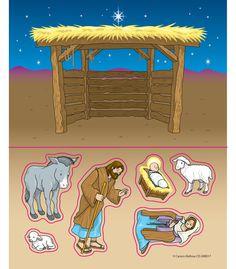 Nativity Stickers