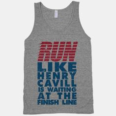 Run Like Henry Cavill Is Waiting At The Finish Line | HUMAN...For you Manang :)