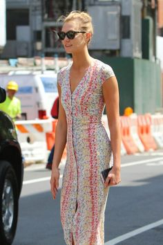 Karlie Kloss spotted in NYC on June 7 2016 #streetstyle