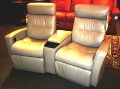 leather entertainment chairs