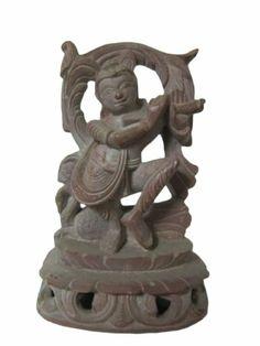 Goddess Lakshmi Stone Sculpture Indian Figurine Hand Carved Statue 4 Inch Mogul Interior,http://www.amazon.com/dp/B00K7UV9M6/ref=cm_sw_r_pi_dp_CyyCtb1FV6T9BWEW