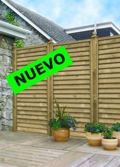 shutter panel vallas paneles catlogo garden house madera