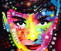 Audrey Hepburn by Dean Russo