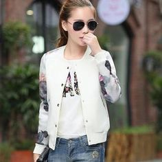 Buy 'Munai – Printed Snap-Button Jacket' with Free International Shipping at YesStyle.com. Browse and shop for thousands of Asian fashion items from China and more!