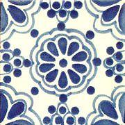 Tamega-Shop - Muster 10x10 - handgemachte Dekorfliesen, Talavera, maurische mexikanische Fliesenmuster, Keramikbordüren, Badezimmerkacheln