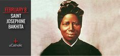 St. Josephine Bakhita was born to a wealthy family in Sudan but was kidnapped by slave traders at the age of 9. she was eventually bought by an Italian consul who eventually entrusted her to the Canossian Sisters of the Institute of the Catechumens in Venice.
