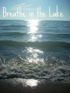 sometimes you just NEED Lake Michigan.