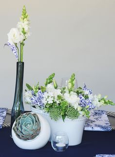 Why not use origami flowers to add the perfect colour to your flower arrangements? Photos by: Natalie Gabriels. Origami Flowers, Event Styling, Flower Designs, Decor Styles, Flower Arrangements, Vase, Colour, Photos, Inspiration