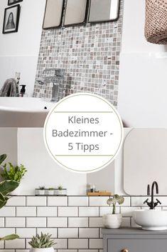 5 einfache Tipps um Euer kleines Badezimmer optimal zu gestalten. Bei uns erfahrt Ihr wie euer kleine Bad größer wirkt.