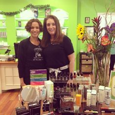 From left to right: Nayla and Debbie, at our Westchase location