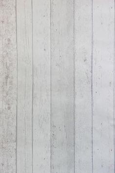 Steigerhout Vliesbehang Wit bij Behangwebshop