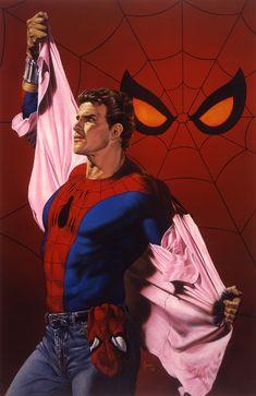 Peter Parker-Spider-Man by Joe Jusko.