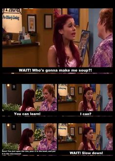 this is so me! Sam and Cat