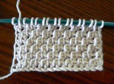 Tunisian crochet. I like this one.
