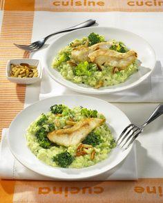 Unser beliebtes Rezept für Broccoli-Risotto zu Fischfilet und mehr als 55.000 weitere kostenlose Rezepte auf LECKER.de.