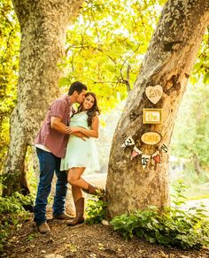 Rustic save the date ideas