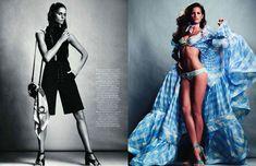 Victorias Secret Models by Inez & Vinoodh || Vogue Paris March 2011