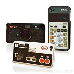 iPhone 4 Cases lol want the camera! :D