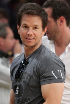 Oh hi, I'm sexy Mark Wahlberg. Can I give you a shoulder massage with my big muscles??
