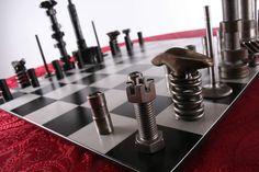 Car parts chess