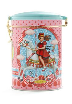 Contain Your Excitement Coffee Canister, #ModCloth